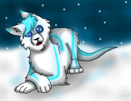 -The Snowflakes Fall- (rocandrol Request) by WaterPhoenixWarrior