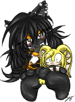 Nyx and Bru :AT: by Sayuri-Amaya