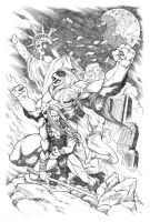 He is Thundarr, the Barbarian by AllanOtero