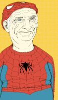 Elderly Spiderman by ZachWoomer
