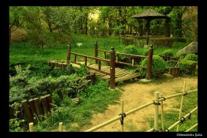 Japanese Garden by RavenNightWish