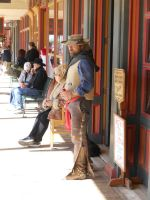Cowboy in Tombstone by AdamCuerden