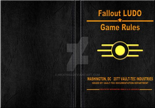 Fallout Ludo Rule book by Nick1983