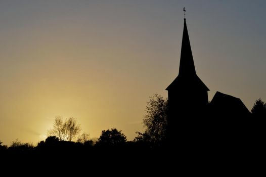 Church Silhouette by JoeDHalford