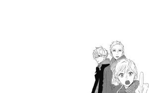 Simple Mamura Family Wallpaper by Background-chan
