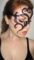 Mardi Gras Mask by LuxeLibrarian