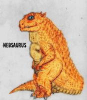 Kaiju: Neosaurus by Quinn-Red
