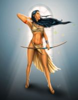 Pocahontas: Wind Legend by steevinlove