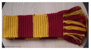 Gryffindor Scarf by thematerialgirl