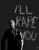 Slender man!!! by phantomcecco