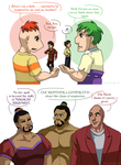 Character vs. Inspiration: Miners by ErinPtah