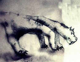 monster hand by Arzuhan