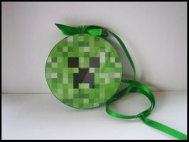Creeper hanging ornament by thepapermaker