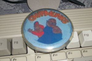 My Chipmunks Badge by Colliequest