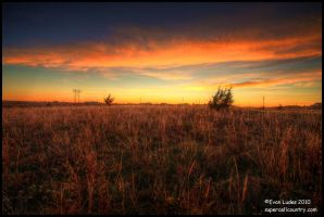 Fire in Kansas by FramedByNature
