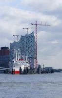 At the Elbe Philharmonic Hall by PhotoartBK
