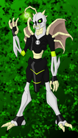 BonejawsV2 Ben10 alien by BLUE-F0X