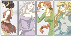 Plenty of Princesses by tacokisses