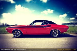 challenger side by AmericanMuscle