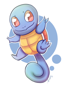 Squirtle by PaperCyn