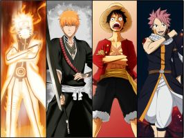 Shonen Hero's by OliverLastra23