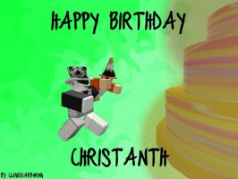 Happy Birthday Christian by RobloxClouddarkwing