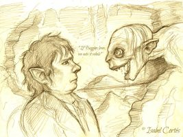 If Baggins loses... by Isnabel
