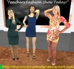 The Teachers Fashion Show by The-Mind-Controller