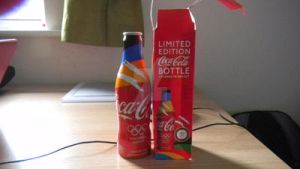 Limited Edition Coca Cola Bottle Olympic by J-R-M-N-K-E