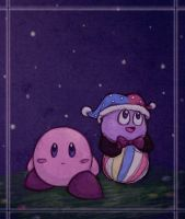 Kirby and Marx :D by TehBurningOrange