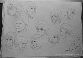 SHINGEKI NO KYOJIN / ATTACK ON TITAN by Captain1Yazeed