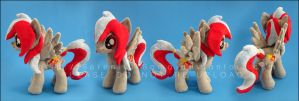 Plushie: Candy Crash - My Little Pony: FiM OC by Serenity-Sama