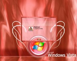 Windows Red Vista Logon by klen70