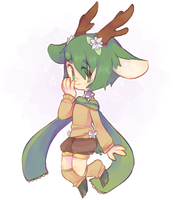 cute deer boyyy by TheQuietDummy
