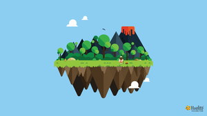 Vector Island - Caveman by D0wnload