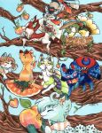 The Mischief of Foxes by nickyflamingo