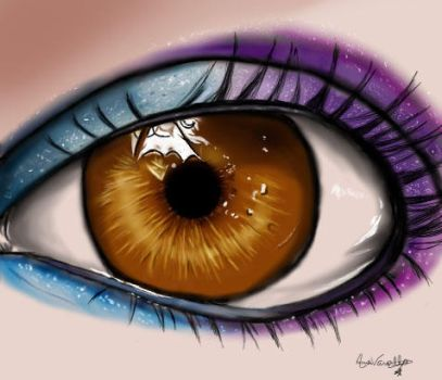 Eye by CarolArt-chan