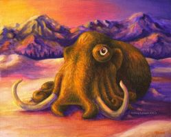 Woolly Mollusk by MegLyman