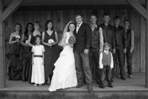 Konrad and Margaret Wedding Party I by JosephTimbury