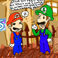 AwwYeahYouKnowIT,RightMario by Kirafrog
