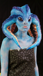 Tethida - My first full Prosthetic Makeup by 2Dismine