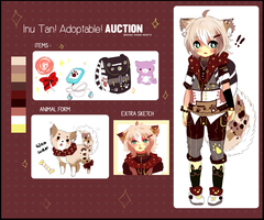 INU TAN - KEMONOMIMI SHOTA- AUCTION - CLOSED by Ayuki-Shura-Nyan