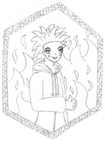 Axel pencil by MikariStar