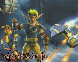 Jak and Daxter: The Lost Frontier Autographed by xxXSketchBookXxx