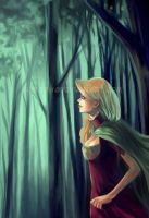 Lady in the Forest by SheCow