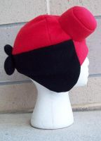 Mad Hatters Hellboy Hat by WonderlandCreations