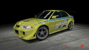 Mitsubishi Evolution VI - 2 Fast 2 Furious by OutcastOne