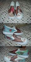 Little Mermaid Shoes by jbsdesigns