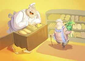 The Bakery by LynxGriffin