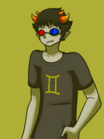 Sollux Captor by blackdragonkokoryu